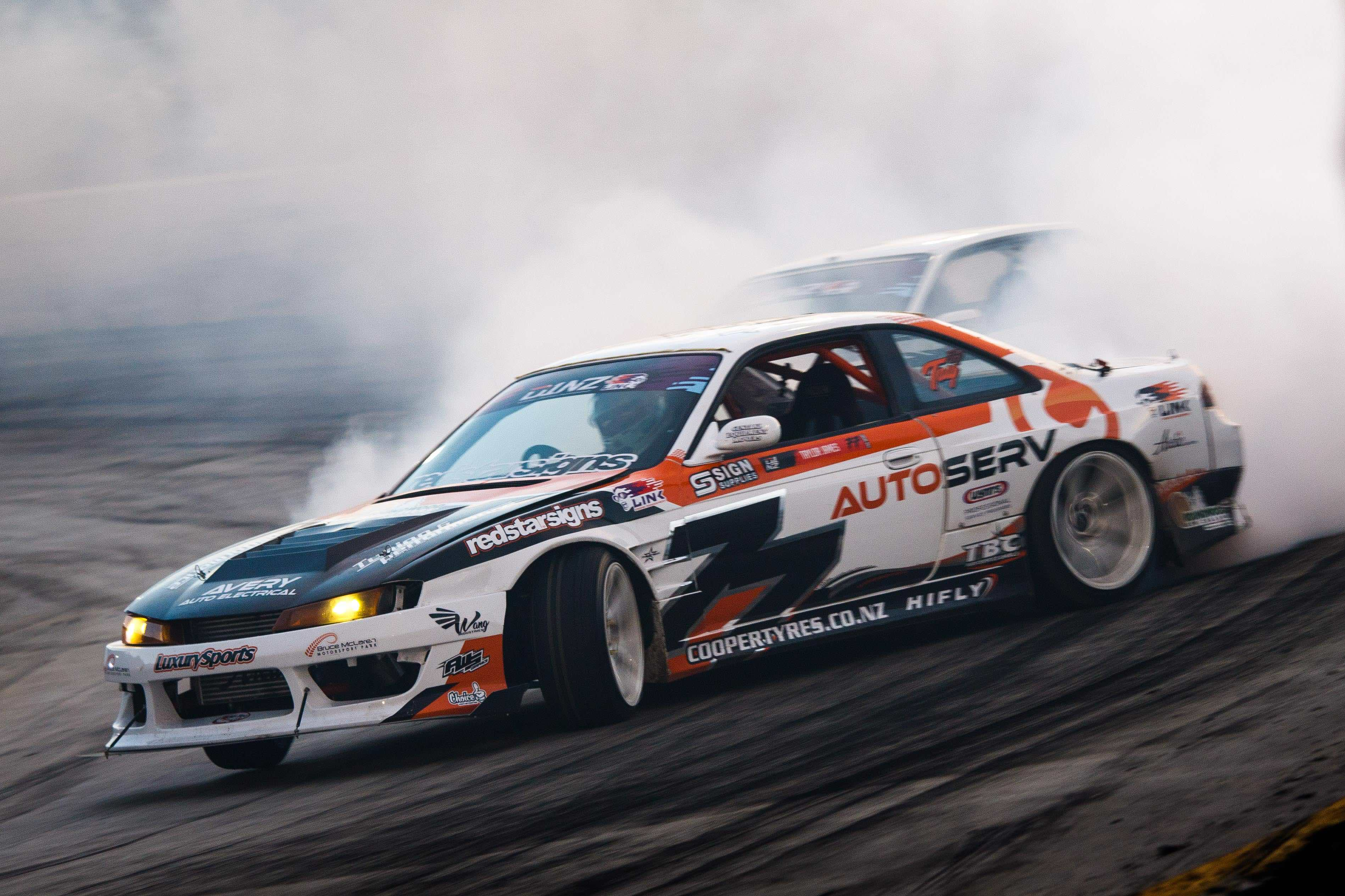 TAYLOR JAMES FINISHES OFF THE JOB FOR CENTRAL DRIFT TEAM