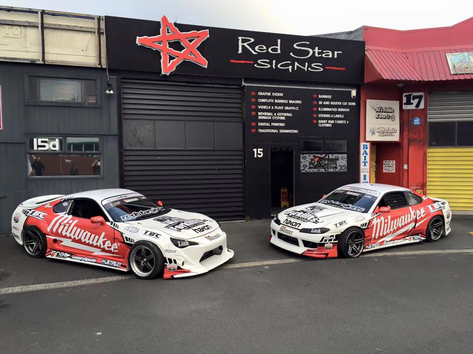 TEAM DMNZ DRIFT SEASON LAUNCH 2015/16