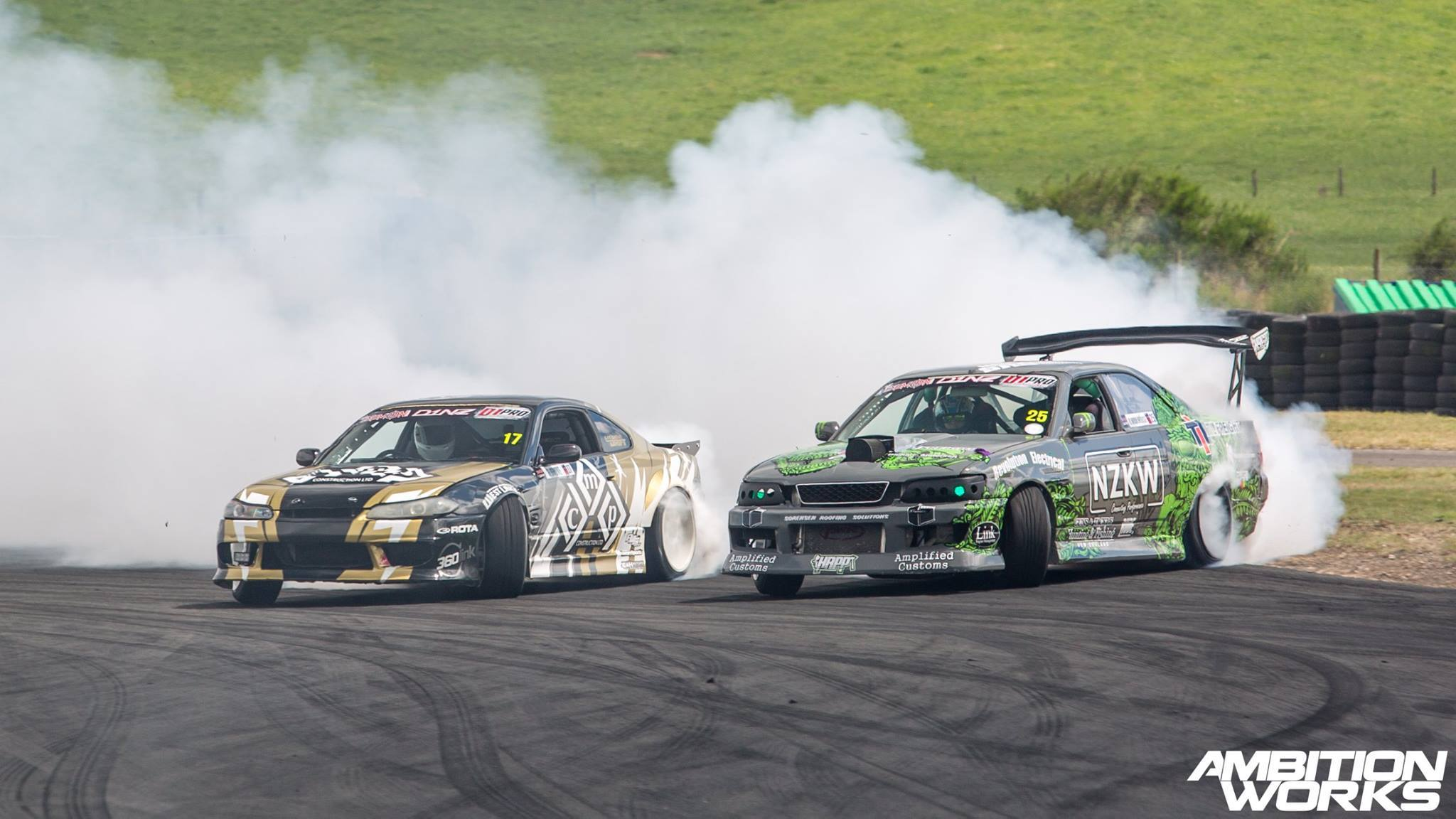 D1NZ DRIFTING ON TV3 STARTS SUNDAY 13TH MARCH 2016