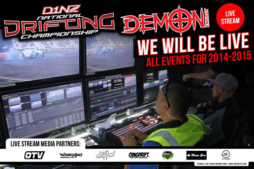 LIVESTREAM BOOST FOR DEMON ENERGY D1NZ DRIFTING ...